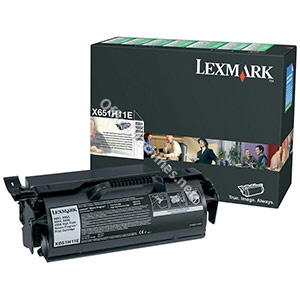 Lexmark Laser Toner Cartridge Return Program High Yield Page Life 25000pp Black