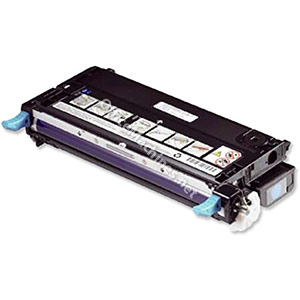 Dell No. H513C Laser Toner Cartridge High Capacity Page Life 9000pp Cyan