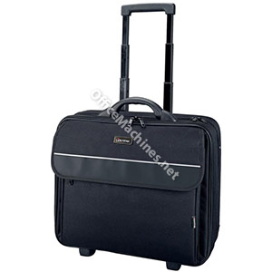Lightpak Treviso Laptop Trolley Overnight Nylon Capacity 17in Black