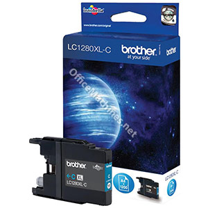 Brother Inkjet Cartridge High Yield Page Life 1200pp Cyan