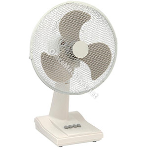 Desk Fan Oscillating Tilt and Lock 48.5Db 3 Speed H630mm Dia.406mm