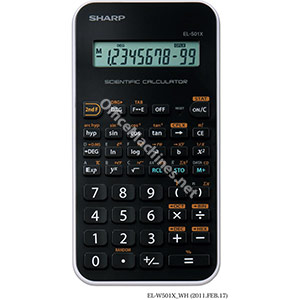 Sharp Calculator Handheld Junior Scientific Battery Power 10 Digit
