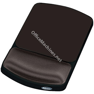 Fellowes Height Adjustable Gel Mouse Pad Graphite