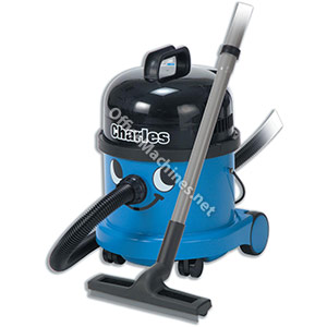 Numatic Charles Vacuum Cleaner Wet and Dry 1060W 15L Dry 9L Wet 7.1Kg W355xD355xH455mm Blue