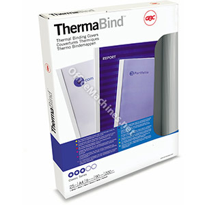 GBC A4 Retail Standard White Thermal Covers