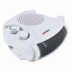Connect-it Fan Heater Adjustable Position 2 Heat Settings 2Kw