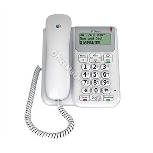 BT Decor 2200 Telephone 3-line LCD 50-entry Phonebook 30 Caller IDs