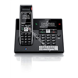 BT Diverse 7460 Plus DECT Telephone Cordless SMS SIM Read/Write TAM 27min 200-entry Directory