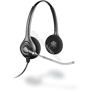 Plantronics HW261VT Headset SupraPlus Wired Quick Call Comfortable Binaural