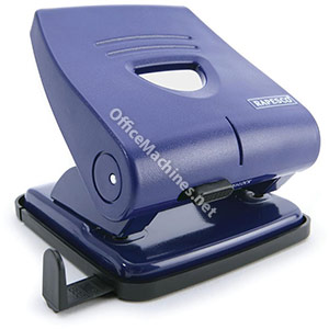 Rapesco 827P Punch 2-Hole ABS-top Capacity 30x 80gsm Blue