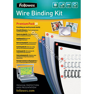 Fellowes Wire Binding Premium Pack 20 Document Pack