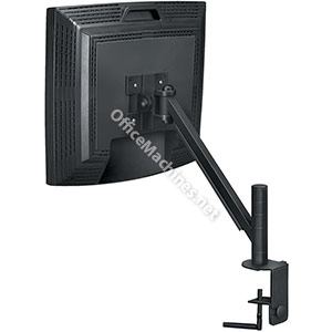 Fellowes Smart Suites TFT Monitor Arm VESA 90degree Tilt Clamps 2.5in Capacity 21in 9kg