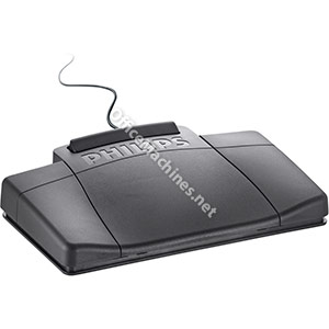 Philips 2210 Foot Control Ergonomic Slim [for Dictation Transcription Kits 720 725 730]