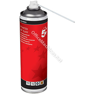 5 Star Compressed Air Duster Non-flammable 125ml