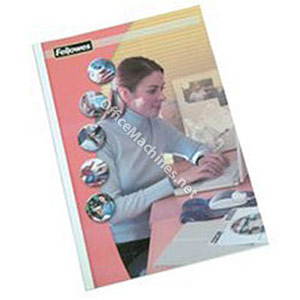 Fellowes Coverlight Matt Black Thermal Binding Covers with PVC Front