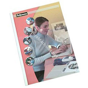 Fellowes Gloss Back Thermal Binding Covers with PVC Front - Large