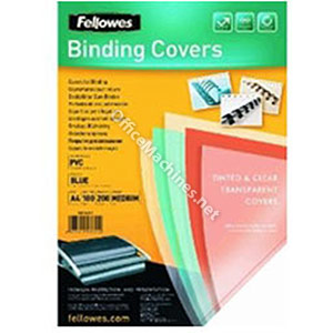 Fellowes Transparent Covers - Frosted Heavy Weight Futura Polypropylene Frosted Cover A4