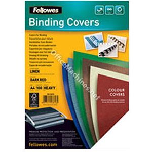 Fellowes Linen Texture Board Heavy Weight Binding Covers A4