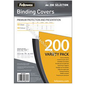 Fellowes Binding Covers Selection Pack