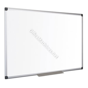Bi-Office Maya Enamel Aluminium Framed Whiteboard 1200x900mm