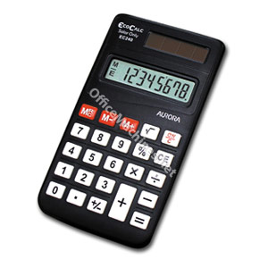 Aurora EC240 Handheld Calculator