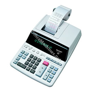 Sharp EL2607PGY Print/Display Calculator