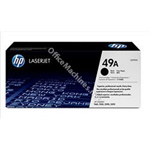 Hewlett Packard No. 49A Laser Toner Cartridge Page Life 2500pp Black