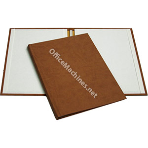 Powis Suede Hardcovers - A4 Portrait to 180-366 Sheets Medium to Large No Window