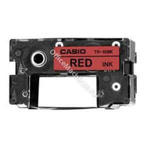Casio TR-18RD Red Ink Ribbon