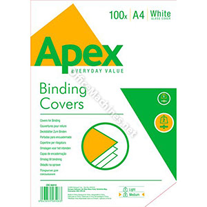Fellowes Apex Gloss Binding Covers A4
