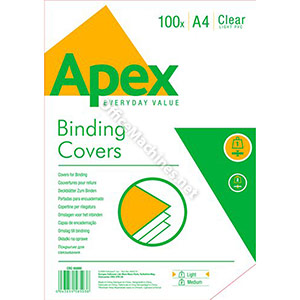 Fellowes Apex Light Weight PVC Cover A4
