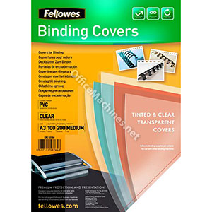 Fellowes Transparent Covers - Medium Weight PVC PVC Cover A3