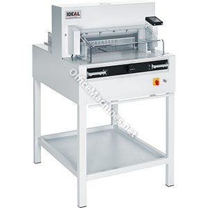 IDEAL 4855 Professional Guillotine with Electro-Mechanical Blade Drive, Automatic Clamp and Easy-Cut