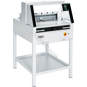 IDEAL 4860 Programmable Guillotine with Light Guards