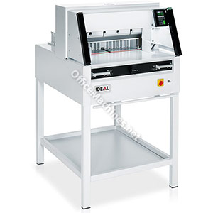 IDEAL 5260 Professional Guillotine with Easy-Cut, Auto Clamp & Programmable Touchpad