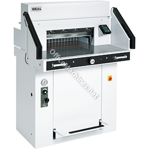 IDEAL 5560 LT Power Guillotine with Hydraulic Blade and Clamp & Air Table