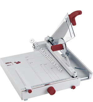 IDEAL 1038 A4 Professional Guillotine with front stop