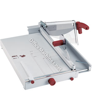 IDEAL 1058 A3 Professional Guillotine with front stop