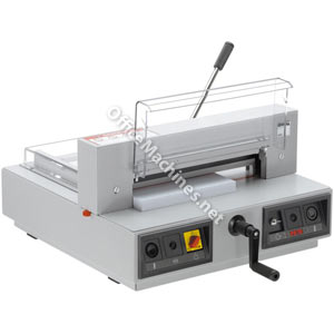 IDEAL 4315 Electric Professional A3 Guillotine with Manual Clamp