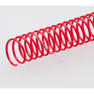 Renz A4 Spirals - Red 6mm Pitch