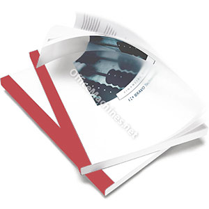 RENZ Bindomatic Aquarelle Red Cover