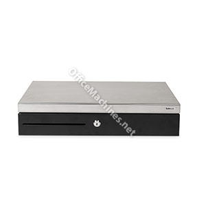 Safescan SD-4617S Embossed Metal Flip-Top Cash Drawer with Electrical & Key Opening