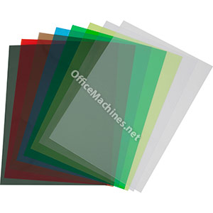 Vivid A4 Clear Polyester Report Covers