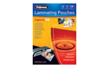 Fellowes Capture 125 Gloss Laminating Pouches - 2x125 micron