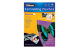 Fellowes Sticky Back or Self Adhesive Lamination Pouches