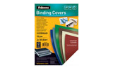 Fellowes A4 Plain Delta Leatherboard Heavy Weight Binding Covers