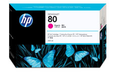 Hewlett Packard [HP] No. 80 Inkjet Cartridge 350ml Magenta