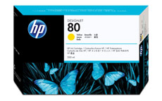 Hewlett Packard [HP] No. 80 Inkjet Cartridge 350ml Yellow