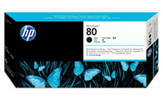 Hewlett Packard [HP] No. 80 Inkjet Printhead and Cleaner Black