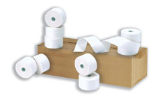 Cash Register Rolls 44x80x17.5mm Length 55m [Pack 20]